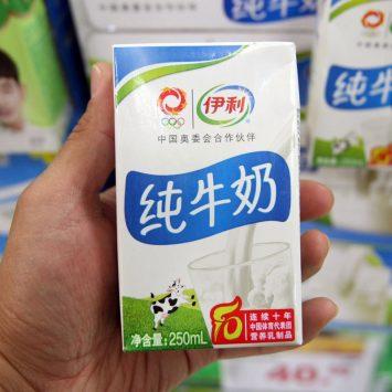 yili milk