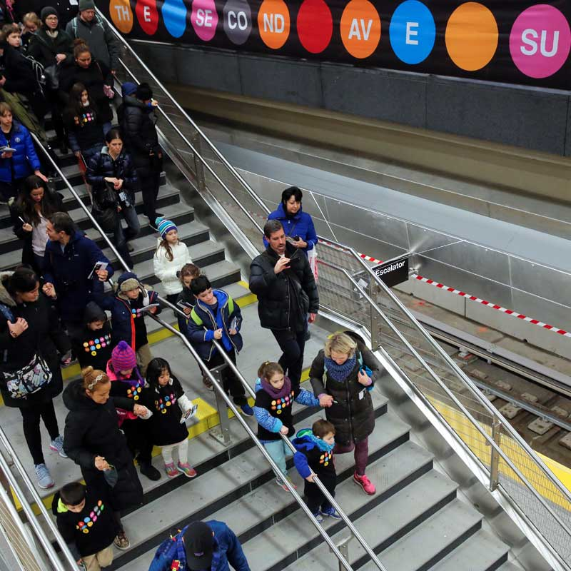 Why are Chinese talking about New York's subway?