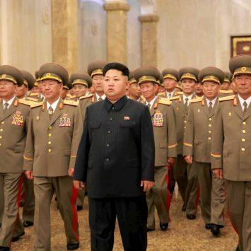 Korean leader Kim Jong Un visits the Kumsusan Palace of the Sun