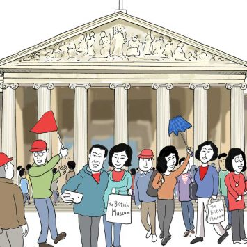 tourists-at-British-Museum-w