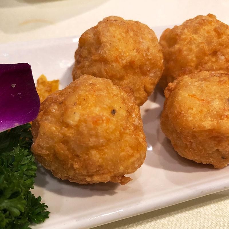 Xia Zao (Shrimp Ball 虾枣)
