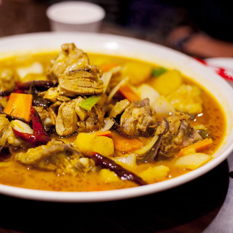 Da Pan Ji (Big Plate Chicken  大盘鸡)