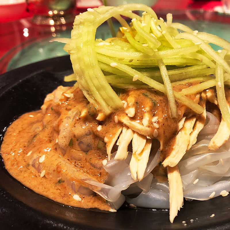 Dongbei La Pi (Cold Potato Noodle  东北拉皮)
