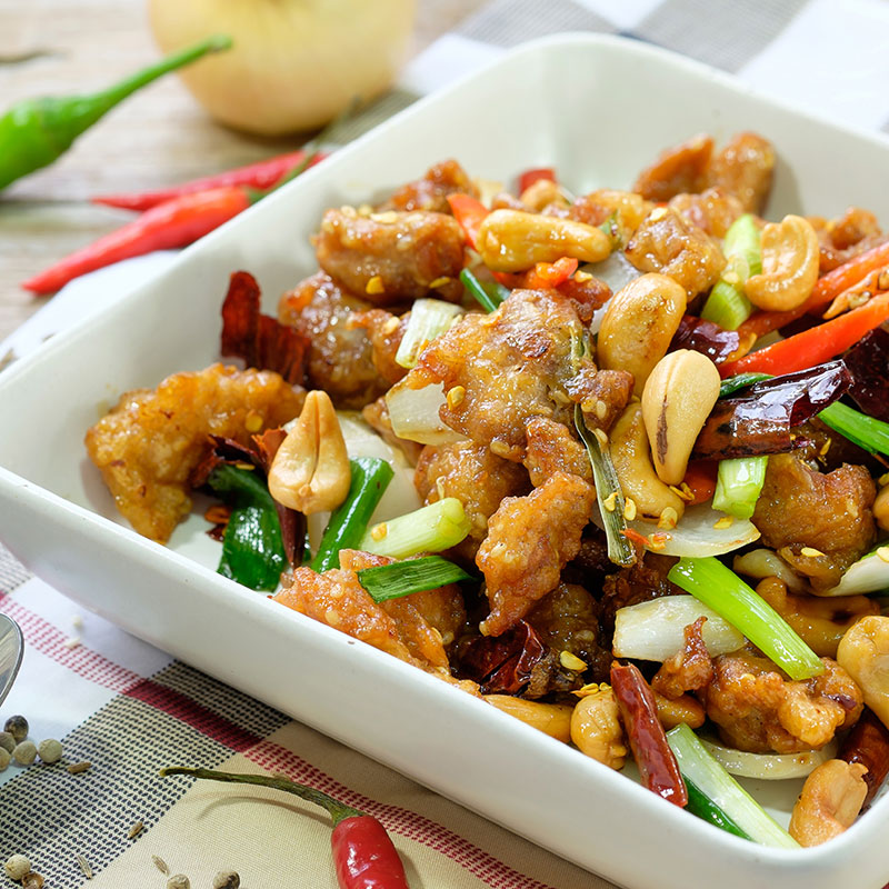 Gongbao Jiding (Kung Pao Chicken 宫保鸡丁)