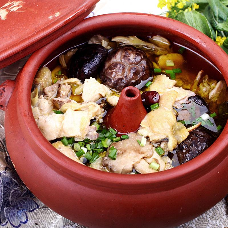 Qi Guo Ji (Steam Pot Chicken  汽锅鸡)