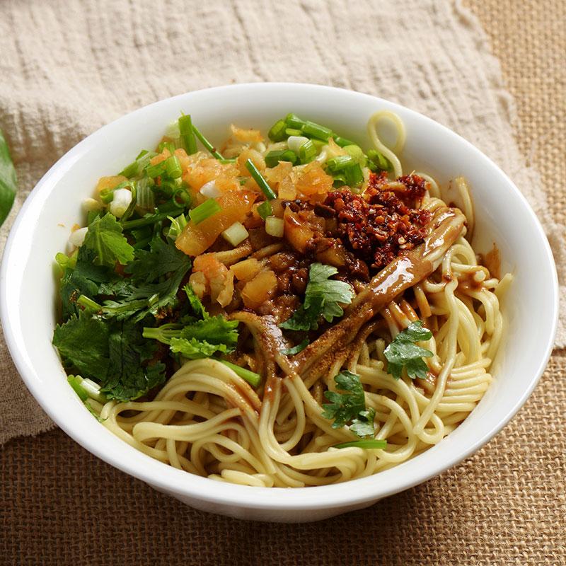 Re Gan Mian (Hot Dry Noodles  热干面)