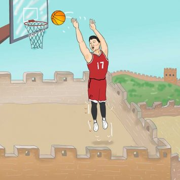 Lin-on-great-wall-w