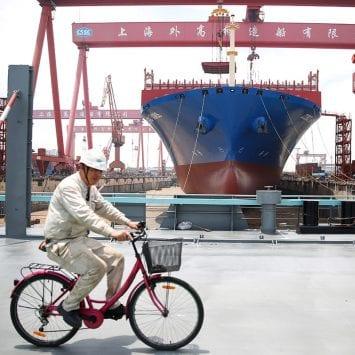 Waigaoqiao-Shipbuilding w